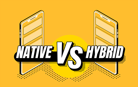 Native or hybrid app development