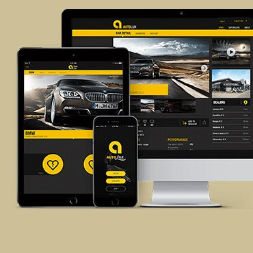 AutoLux car portal - DTT apps