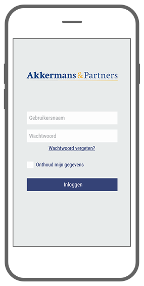 Function Login - Akkermans PensioenCommunicatieTool