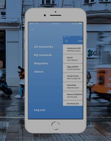 Ask4Wifi platform app - DTT apps