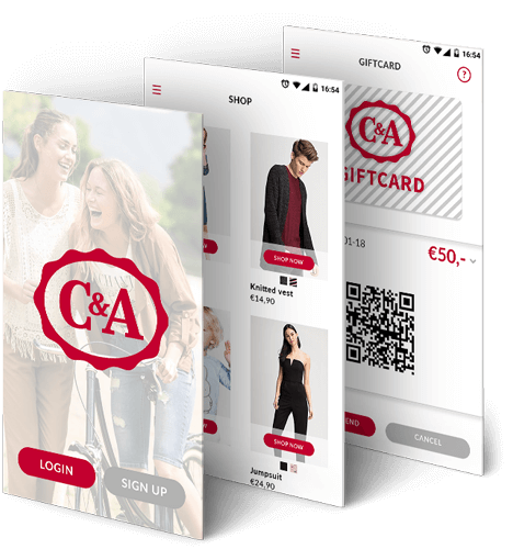 C&A loyalty demo app beschrijving