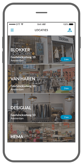 Function Locatie, locatie, locatie   - Fanly loyalty app