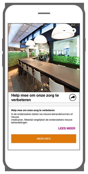 Function Browse information - GGZ inGeest healthcare framework app