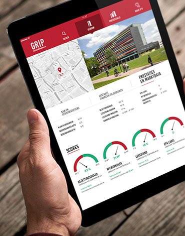 GRIP real estate manager app - DTT apps