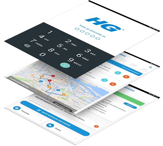HG Sales app III beschrijving