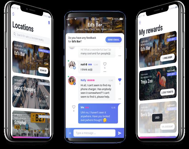 Live Life app  overzicht