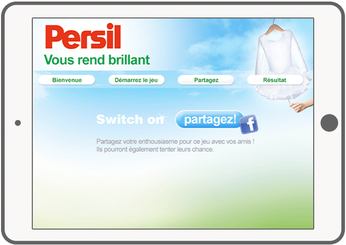 Function Delen - Persil Facebook game