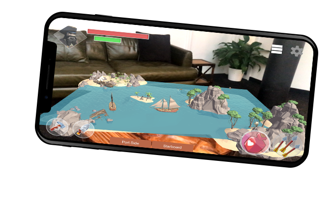 Pirates & Privateers: Multiplay AR game overzicht
