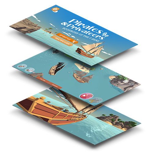Pirates & Privateers: Multiplay AR game beschrijving