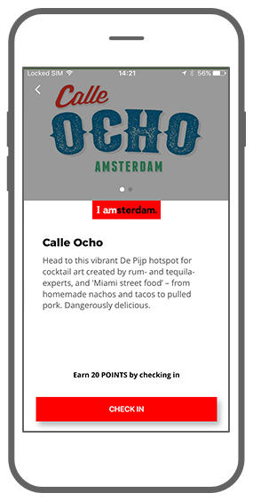 Function Example of check-in - I amsterdam Maps & Routes