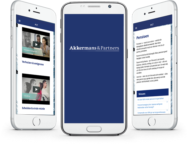 Akkermans PensionCommunication Tool overzicht