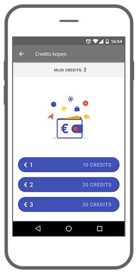 Function Credits kopen - App!pointment app