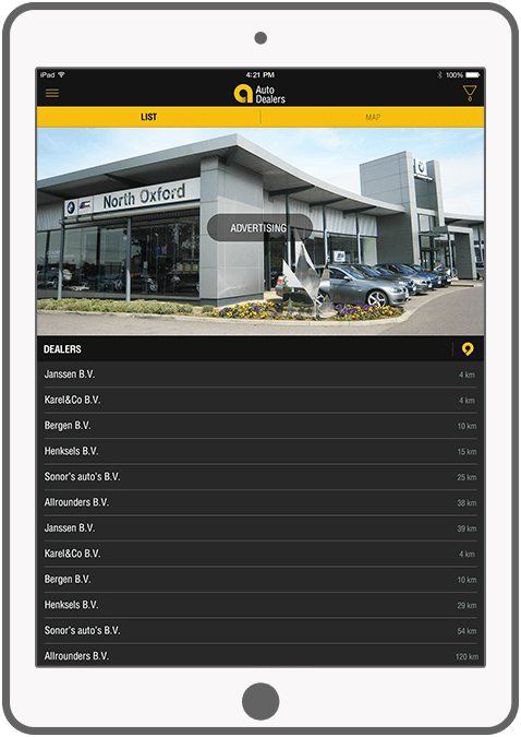 Function Dealerinformatie - AutoLux car portal
