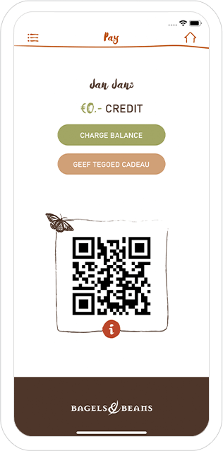 Function Pay - Bagels & Beans loyalty app