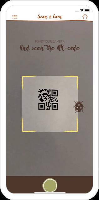 Function Scan QR-code - Bagels & Beans loyalty app