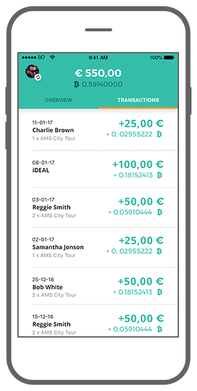 Function View-only wallet - Transacties - Bitmoney Bitcoin Payment Platform app