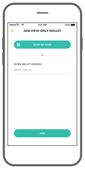 Function View-only wallet - Bitmoney Bitcoin Payment Platform app