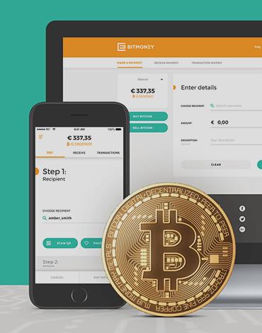 Bitmoney Bitcoin Payment Platform app - DTT apps