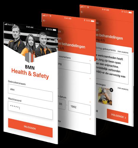 BMN Health & Safety app beschrijving