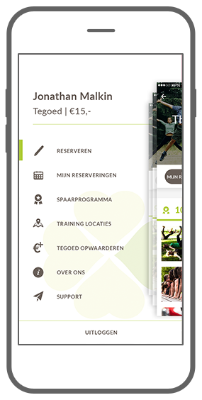 Function Het menu  - Bootcamp loyalty app
