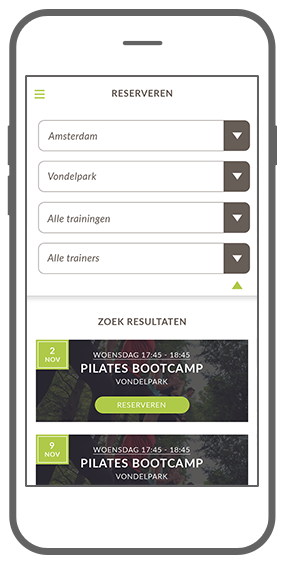 Function Reserveren doe je zo - Bootcamp loyalty app