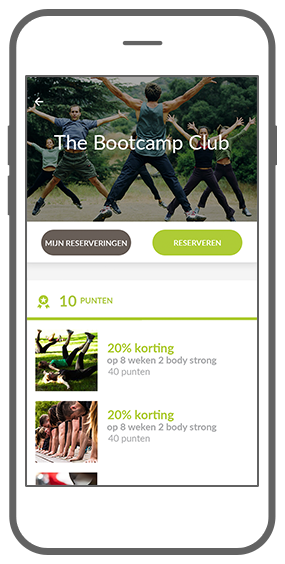 Function Gespaarde punten  - Bootcamp loyalty app