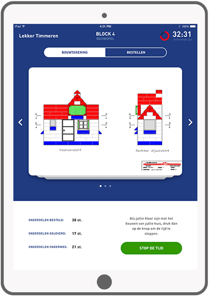 Function Block 4: Construction Game - blueprint - Bouwend Nederland e-learning tool