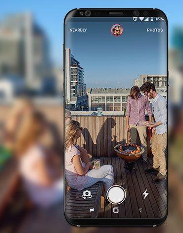 Capture Social Camera app - DTT apps