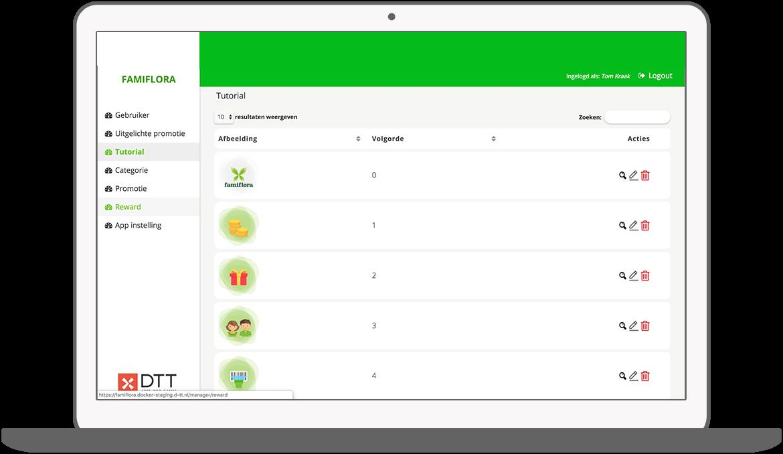 Function Tutorial - Famiflora loyalty app