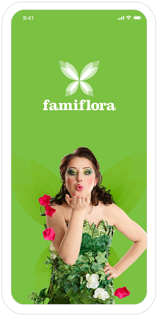 Function Splash - Famiflora loyalty app