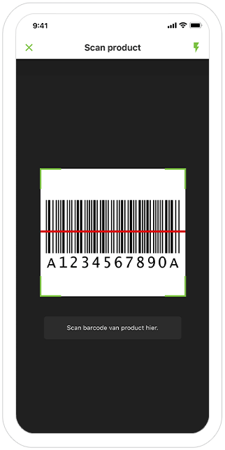 Function Product Scanner - Famiflora loyalty app