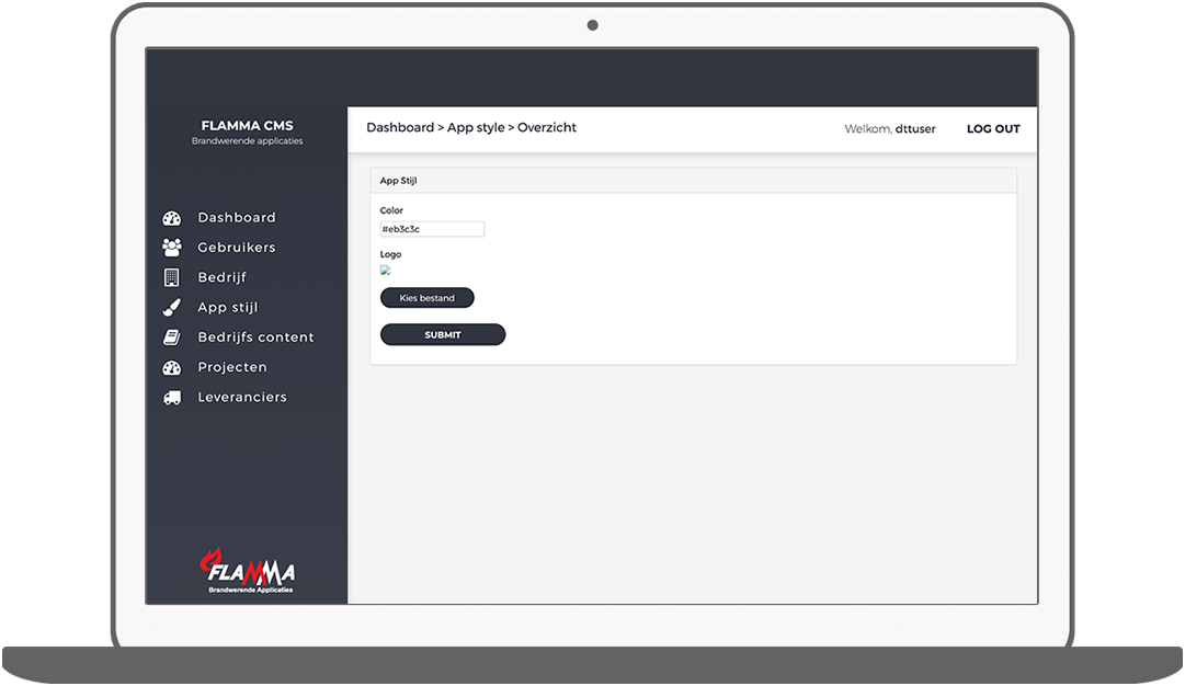 Function App style - Flamma inspection app