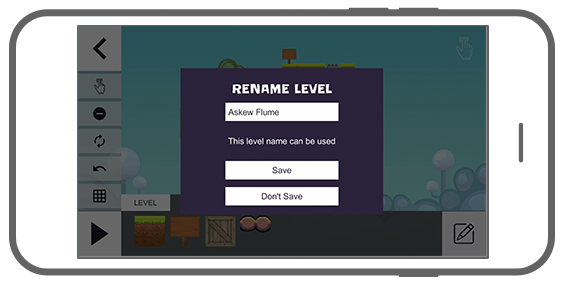 Function Level editor – Name - Flip Puzzle