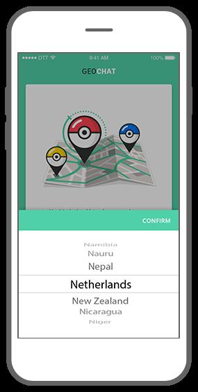 Function Select the country - Geochat Pokémon radar