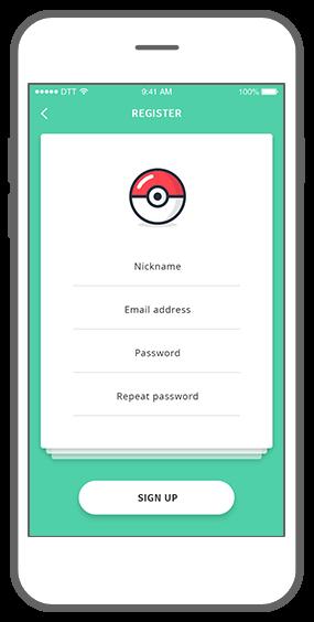 Function Appealing account - Geochat Pokémon radar