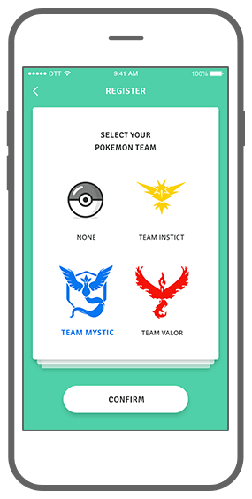 Function Tag team - Geochat Pokémon radar