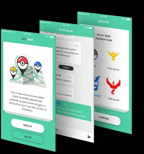 Geochat Pokémon radar beschrijving