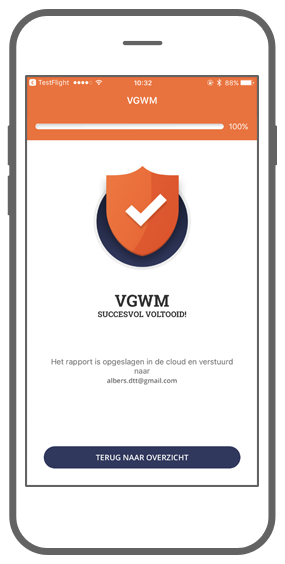 Function Check: VGWM - Check Your Safety app