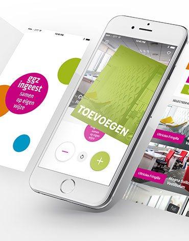 GGZ inGeest healthcare framework app - DTT apps