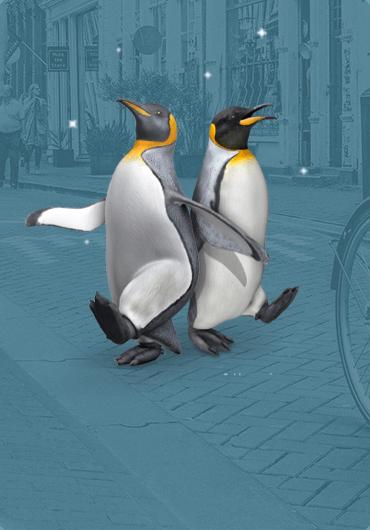 King Penguin - Greenpeace AR - DTT apps
