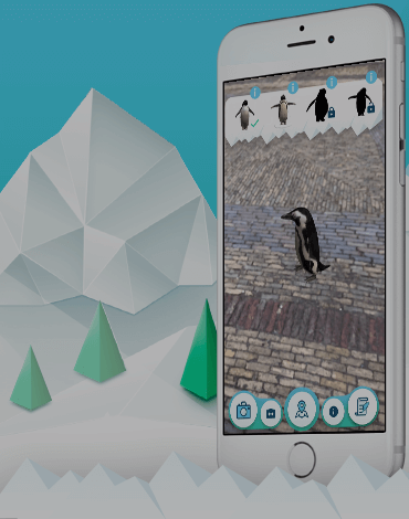 King Penguin - Greenpeace AR - DTT apps