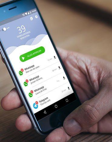 Read2Speak messages reading app - DTT apps