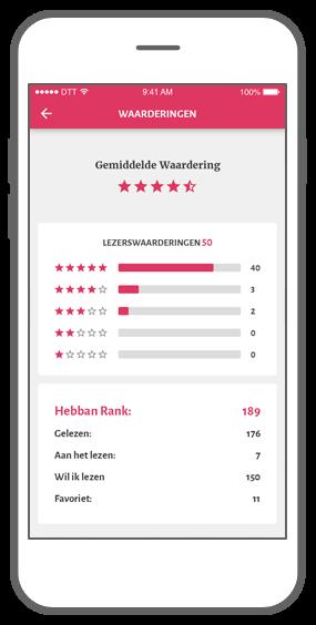Function Reviews - Hebban books community app