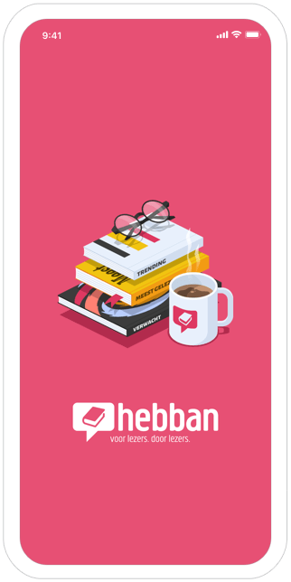 Function Splashscreen - Hebban books community app