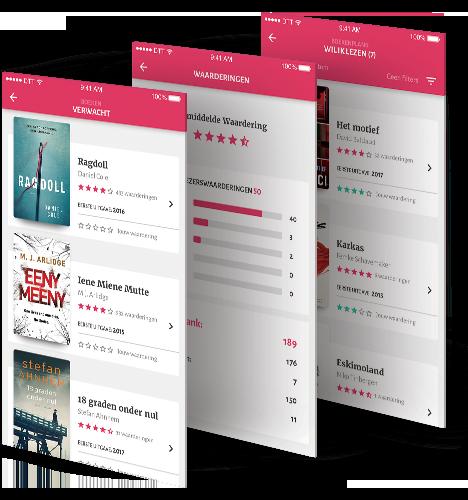 Hebban books community app beschrijving