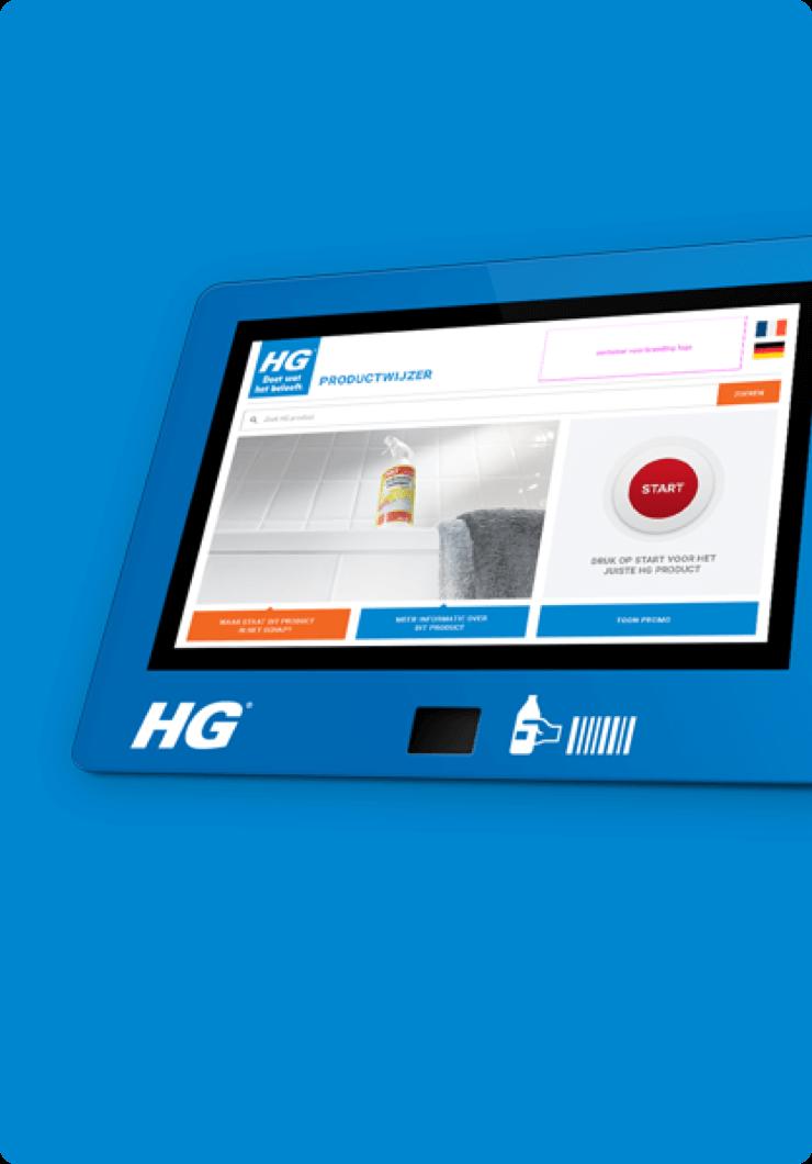 HG Shelf Information System (SIS) - DTT apps
