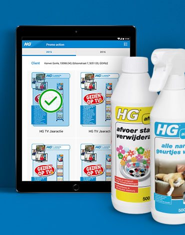 HG Sales app II - DTT apps