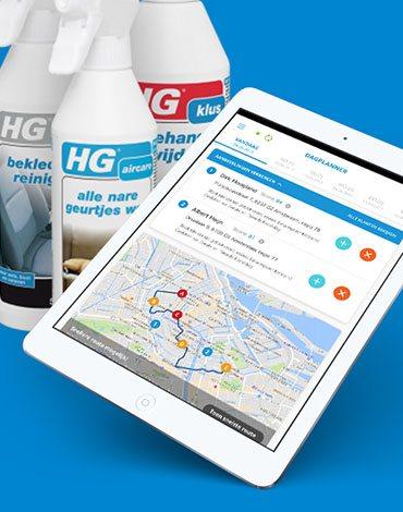 HG Sales app III - DTT apps