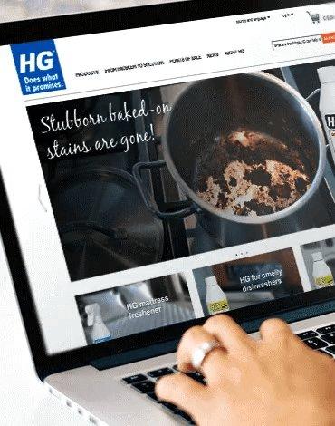 HG webshop - DTT apps