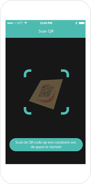 Function Scan QR  - Hoes geocaching game
